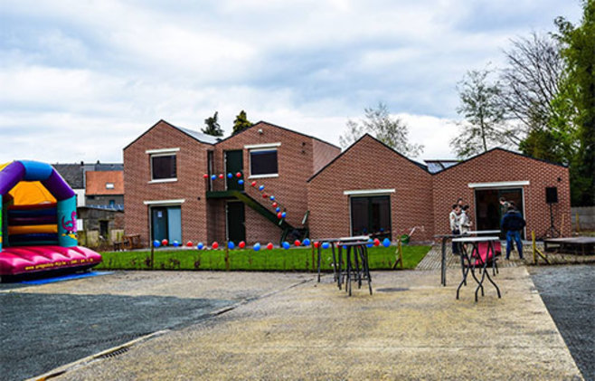Jeugdlokaal scouts geel